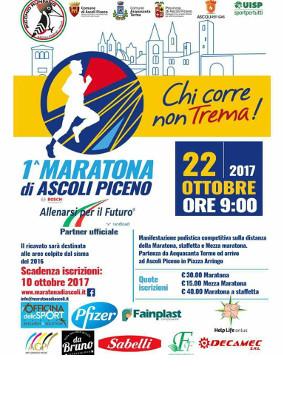 Prima maratona di Ascoli Piceno